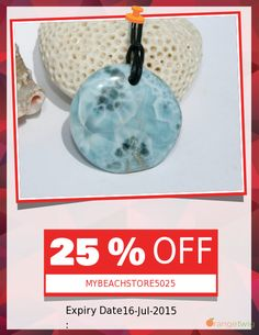 Get 25% OFF our Entire Store now! Enter Coupon Code: MYBEACHSTORE5025 Restrictions: Min purchase: USD 100.00, Expiry: 16-July-2015. Click here to avail coupon: https://orangetwig.com/shops/AABCLyV/campaigns/AABCfxy?cb=2015007&sn=MyBeachStore&ch=pin&crid=AABCfx2
