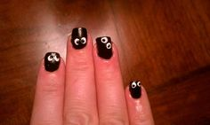 Halloween Nail Art that I did.