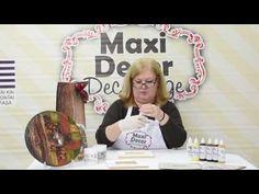 Maxi Decor Τεχνική Απομίμηση Φλοιού Decoupage (Ντεκουπάζ) - YouTube Decoupage, Wood Sculpture, Diy Tutorial, Flower Art, Make It Yourself, Frame, Youtube, Home Decor, Gisele