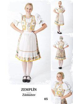 Zemplín, SK Folk Costume, Costumes, Folk Embroidery, Folklore, Harajuku, Beauty, Style, Fashion, Pray