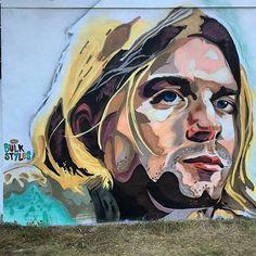 Bulk styles, Kurt Cobain in West Palm Beach, Florida, USA, 2016