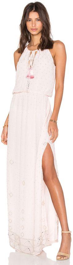 Tessora Keyhole Maxi Dress