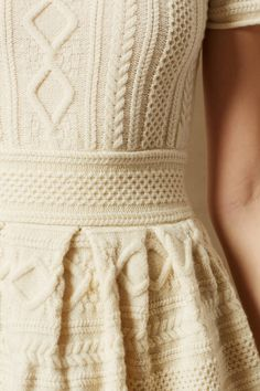 Cabled Sweater Dress - anthropologie.com