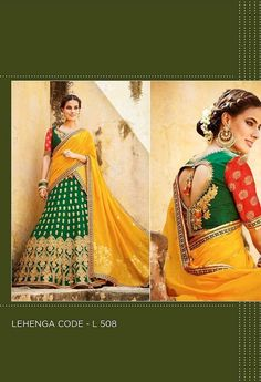 Embroidered Lehenga & Tussar Silk Blouse..@ fashionsbyindia.com #designs #indian #womens #style #cloths #stylish #casual #fashionsbyindia #punjabi #suits #wedding #chic #elegance #beauty #outfits #fantasy #embroidered #dress #PakistaniFashion #Fashion #Longsuit #FloralEmbroidery #Fashionista #Fashion2015 #IndianWear #WeddingWear #Bridesmaid #BridalWear #PartyWear #Occasion #OnlineShopping #salwar #kameez #lehenga Party Wear Lehenga, Georgette Fabric, Wedding Wear, Indian Wear, Chiffon, Saree, Punjabi Suits, Silk, Stylish