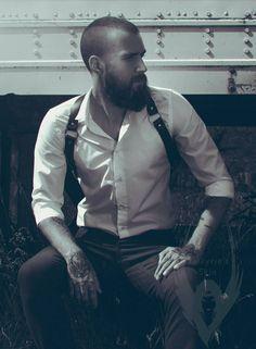 Leather Harness for Man Body Harness Mens Harness Bondage Submission Harness Leather Man Harness Sus Leather Harness, Leather Men, Beard Images, Color Type, Sharp Dressed Man, Beard Styles, Male Body, Suspenders, Bearded Men