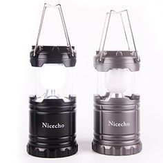 Bright Collapsible LED Camping Lantern Outdoor Detachable FlashlightsEmergency…