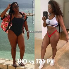 Weight Loss Inspiration, Body Inspiration, Fitness Inspiration, Body Motivation, Weight Loss Motivation, Fit Black Women, Thick And Fit, Gym Body, Black Fitness