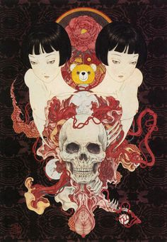 "Gothic Masterpieces by Takato Yamamoto ""Origami Cupcake: Katie Badenhorst, Art & Inspiration"