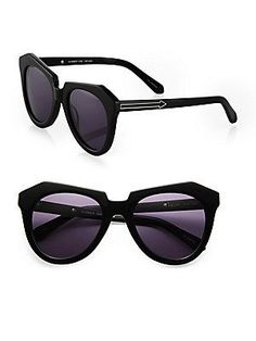 Karen Walker Number One Plastic Sunglasses RonitStylist