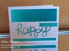 brayered background + hello you thinlits by Stampin' Up!