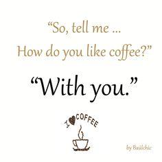 Sí, nos gustaría tomarnos un café contigo!  #buenosdias #frasedeldia #felizviernes #baulchic