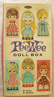 1966 vintage...my grandmother fay would have a drawer of toys for us when we came over to their house. It had paper dolls, coloring books, bird whistles and we would all get a glass of fizzy tablet drinks, She also had a canary her whole life.