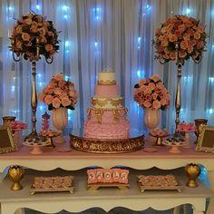 Sweet 16 Decorations, Birthday Party Decorations, Birthday Parties, Sweet 16 Birthday, 15th Birthday, My Super Sweet 16, Sweet Fifteen, Dessert Bar Wedding, Beauty And Beast Wedding