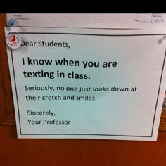 BAHAHAHAHAH! if i was a high school teacher...this would be the first thing my students see as they walk through the door..