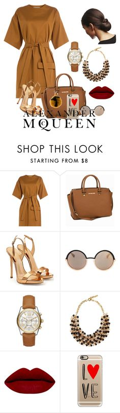 """""""NYFW WEEK"""" by gloriadesigns on Polyvore featuring MSGM, MICHAEL Michael Kors, Giuseppe Zanotti, Marc by Marc Jacobs, Michael Kors, Etro, Casetify, Fendi, Alexander McQueen and women's clothing"""
