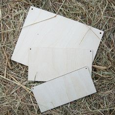 Plaques made from Birchwood ideal to stain and embellsh further Wooden Craft Shapes, Wooden Crafts, Craft Projects, Scrapbook, Frame, Design, Decor, Picture Frame, Wood Crafts