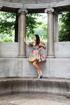 Like a Painting - Summer in Bubble Hem Dress - Wendy's Lookbook Wendy's Lookbook, Blue Dresses, Summer Dresses, I Dress, Bubbles, Style Inspiration, Painting, Street, Fashion