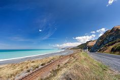 Part of the stunning drive along the east coast of the #New #Zealand south  island