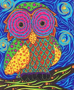 'Owl' by Shayna Butler