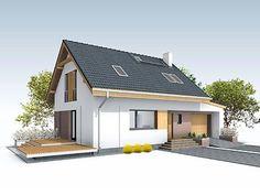Jagoda 4 projekt domu - DOMY w Stylu Interior S, Outdoor Structures, Outdoor Decor, House, Home Decor, Design, Ideas, Decoration Home, Home