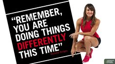 """""""Remember, you are doing things differently this time"""" - Michelle Bridges Michelle Bridges 12wbt, Fat Motivation, 12 Week Body Transformation, I Will Succeed, Fitness Courses, Eyes On The Prize, The Time Is Now, How To Stay Motivated, Fitspiration"""