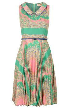 Paisley Dress- springy, preppy and ever so slightly bohemian.