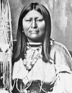 Chipeta (1843 – 1924) Indian Rights Advocate and Diplomat was a peacemaker who did not consider all settlers to be the enemy, often giving food to starving white families. In 1879 when her tribe was about to start a war with settlers, Chipeta successfully convinved Chief Ouray to call off all fighting, arguing the war would be devastating to all.