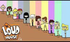 The loud house - 046 Cartoon As Anime, Cartoon Games, Cartoon Shows, Cartoon Art, Nickelodeon Shows, Nickelodeon Cartoons, Old Cartoons, Cute Animal Drawings, Cartoon Drawings