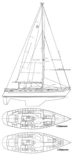 65687da96158a1e59afe289a1679b1a4 christina 43 (hans christian) drawing on sailboatdata com 3 Simple Boat Wiring Diagram at n-0.co