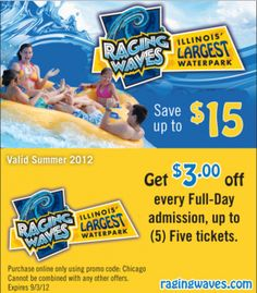 Rapids water park coupons printable