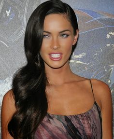 We Love Black Hair and We Love it More on Megan Fox
