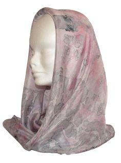 Батик. Шелковый шарф . Цвет розовый и от EleganceCollections, €32.99