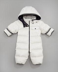 0a4d5a7b86e Baby wil be 4 months. Tom Snowsuit by Moncler Down Suit