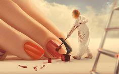 Manipulação de fotos do artista Nemanja Pesitsa