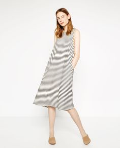 FLOWING DRESS-View All-DRESSES-WOMAN | ZARA United States