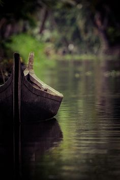 The boat Gabe tried to build to meet his mother.