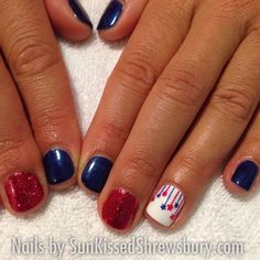 patrioticnails.quenalbertini: July 4th Nails | IG sunkissedshrewsbury
