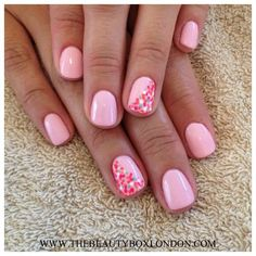 Jessica GELeration Bellini Baby with multi-coloured speckles. Created by Sophia, The Beauty Box.