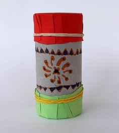 Craftsboom.com: Toilet paper roll maracas- version I