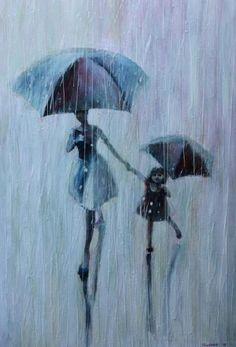 En la lluvia también puede haber alegría