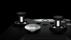 Details we like / Button / Silver / polygone / Circle / / at Elite Wireless Controller interchangeable D-pad