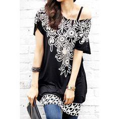 Wholesale Fashionable Scoop Neck Floral Print Color Block Short Sleeve Dress For Women Only $4.36 Drop Shipping | TrendsGal.com