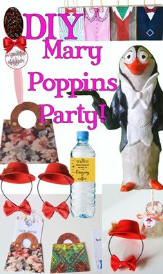 DIY Mary Poppins / Mary Poppins returns party theme ideas