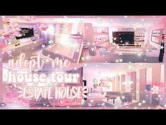 adopt roblox cool tour pastel building tours adoption bedroom houses aesthetic