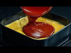 O vei pregati negresit la orice sarbatoare! Prajitura cu nuca si ciocolata innebuneste! | SavurosTV - YouTube Chocolate Fondue, Pudding, Tv, Cooking, Desserts, Youtube, Food, Kitchen, Tailgate Desserts