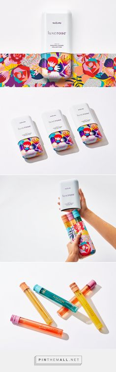 Luxerose Premium Cocktail Collection on Packaging of the World - Creative Package Design Gallery - created via https://pinthemall.net