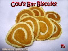 Cow's Ear Biscuit Recipe