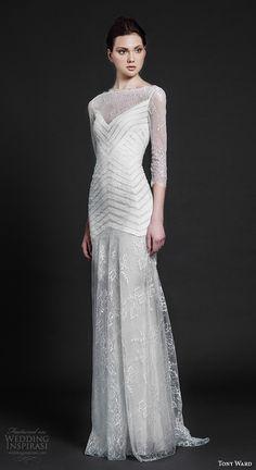 "Tony Ward 2016 Wedding Dresses — ""Abstract Roses"" Bridal Collection"