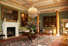 Spencer House, London - The Dining Room.