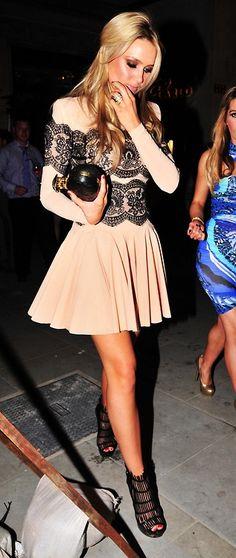 Stunning dress and heels.